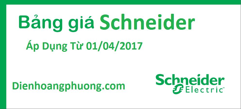 BẢNG GIÁ SCHNEIDER 2017